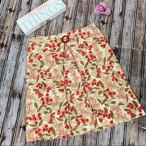 Speechless Floral Skirt With Bow Size 9